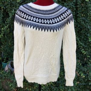 Vineyard Vines Fair Isle Cashmere Blend Sweater